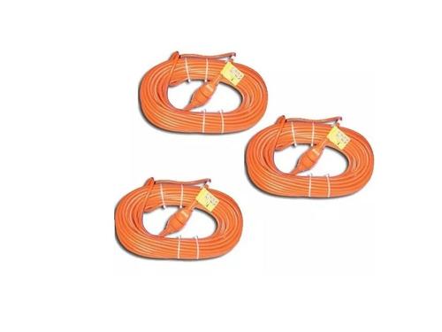 cable alargue electrico 10 metros bordeadora cortadora