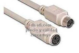 cable alargue extension ps2 macho-hembra 3 mts témperley