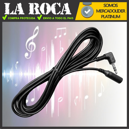 cable alargue miniplug hembra macho 3.5mm alargue auricular