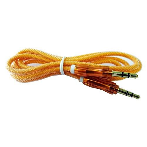 cable aluminio auxiliar audio 3.5 1m varios colores