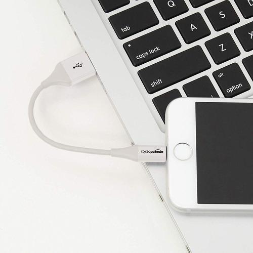 cable - amazon lightning a usb - iphone ipad apple mfi 10cm