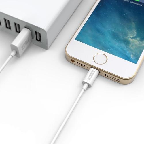 cable - anker - lightning a usb - iphone ipad mfi 90cm 3 uni