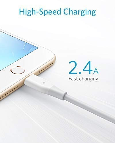 cable - anker - powerline lightning a usb - iphone ipad 1.8m