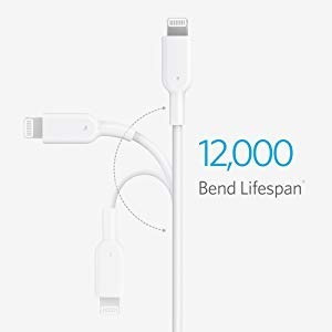 cable - anker - usb-c a lightning iphone ipad apple mfi 90cm
