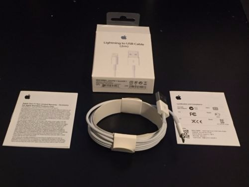 cable apple lightning 2 metros original iphone 5s,6,6s ipad