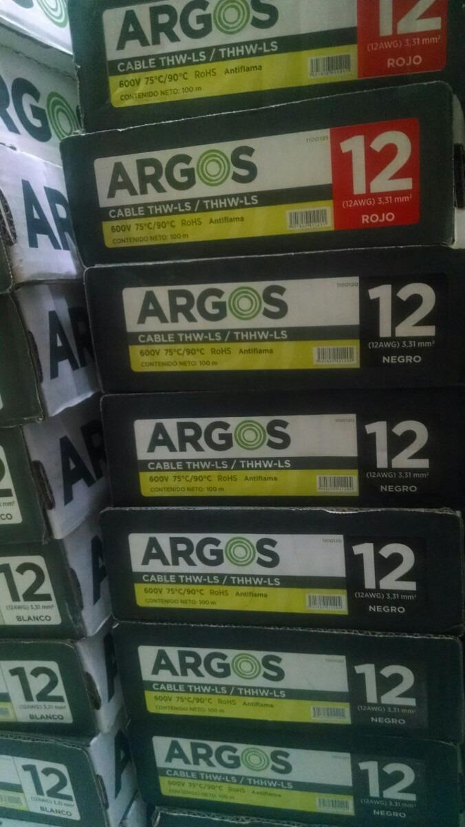 Cable Argos Cal12 Condumex Condulac 47 00 En Mercado