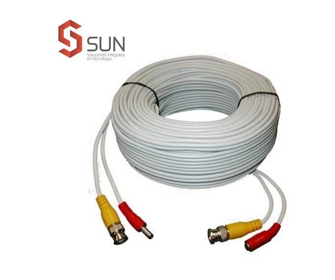 cable armado 30 mts p/ cctv gen, consulte por dvr, camaras