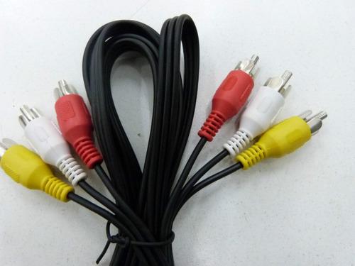 cable armado 3rca a 3rca para dvd 1.5m