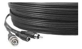 cable armado cctv dc+bnc+rca 30mts audio video alimentacion
