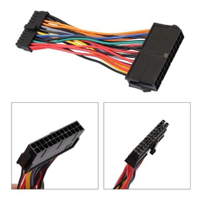 Cable Atx 24 Pin Hembra A 24 Pin Mini Macho Dell 780 980 760