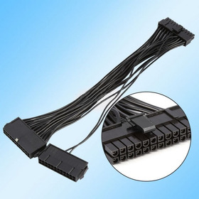 Cable Atx Para Dual Psu O 2 Fuentes De Poder Riser Btc