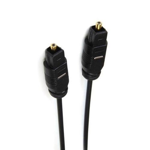 cable audio digital optico startech toslink 3 mts thintos10