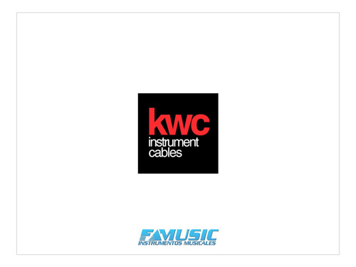 cable audio kwc iron 274 2 rca x 6.5 st 3mts