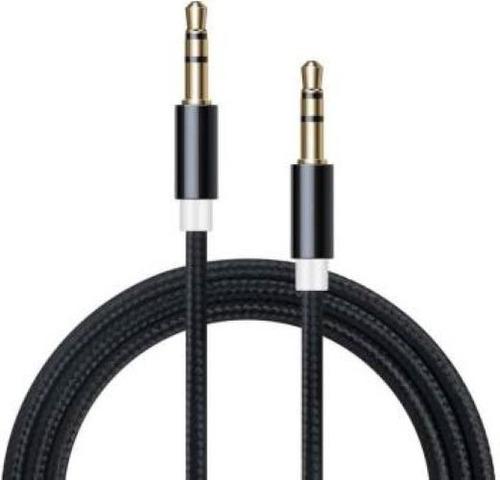 cable audio miniplug 3.5 macho macho oro 5mts titan belgrano