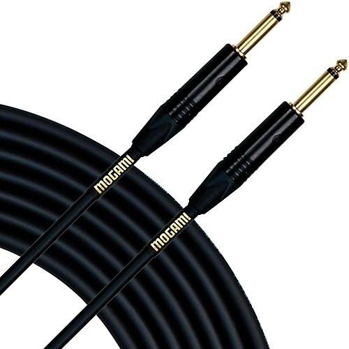 cable audio mogami plug plug ts mono gold 7,62 mts