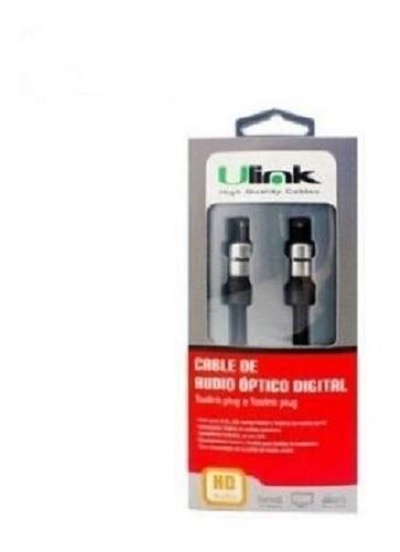 cable audio óptico digital coaxial hd toslink conectores oro