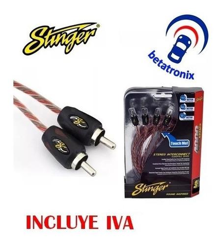 cable audio rca stinger para amplificador desde