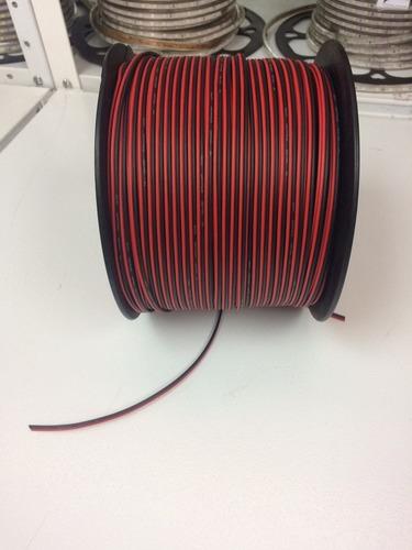 cable audio sonido bocina bicolor rollo 300 mts