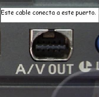 cable audio video 15fspara filmadora sony sr12 xr100 dvd101