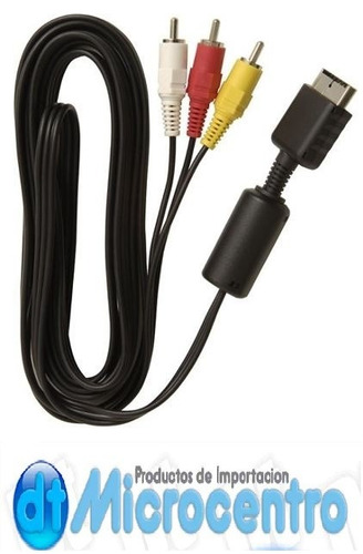 cable audio video playstation 2