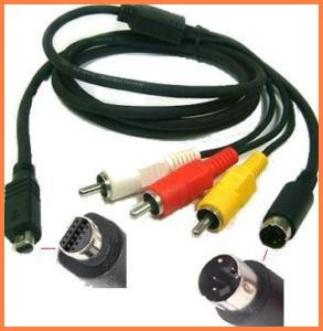 cable audio video vmc-15fs p/ video camaras sony dcr-dvd404