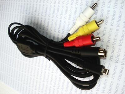 cable audio y video para filmadora sr42 sr62 sr82 sr47 sr87