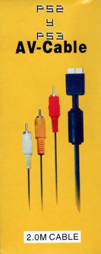 cable audio y video para ps2