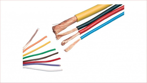 cable automotriz flexible awg 105 ° # 10 # 12 # 14 # 16 # 18