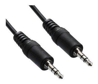 cable auxiliar miniplug stereo m/m 1.5 metros - polotecno