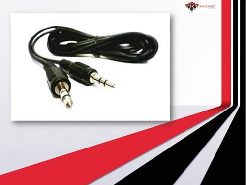 cable auxiliar plus/plus 3.5mm 1.5mts macho a macho sa