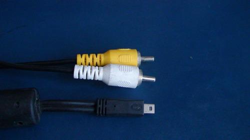 cable av audio y video para camaras sony cybershot