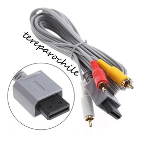 Cable Av Nintendo Wii 3 Colores Cable Rca Consola Wii Stereo