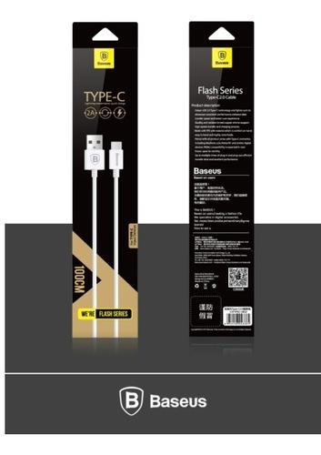 cable baseus tipo usb 5 pines a tipo c macbook, nexus, xiaom