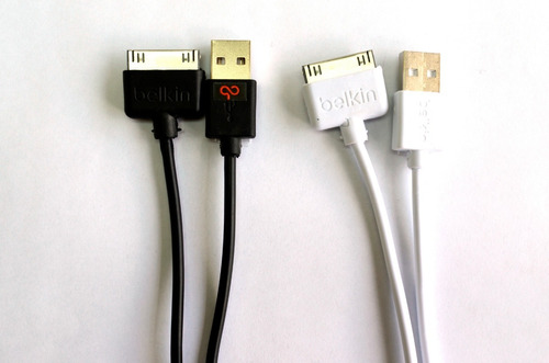 cable belkin iphone 4/4s certificado 1.2 metros