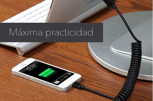 cable belkin lightning - usb cargador de ipad / iphone auto