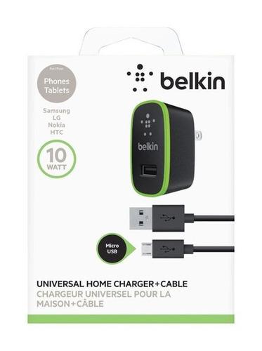 cable belkin micro usb cargador teléfonos android samsung