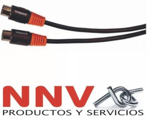 cable bespeco midi midi 1.5 metros premium blister slmm150