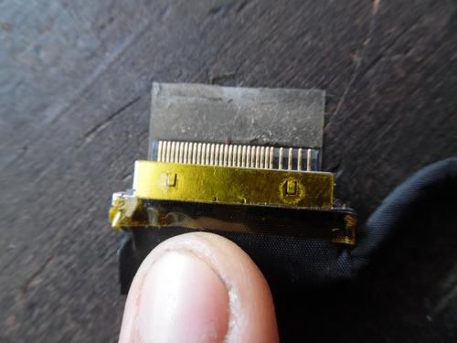 cable, bus o flex de video (display) p/ toshiba c845 c845d