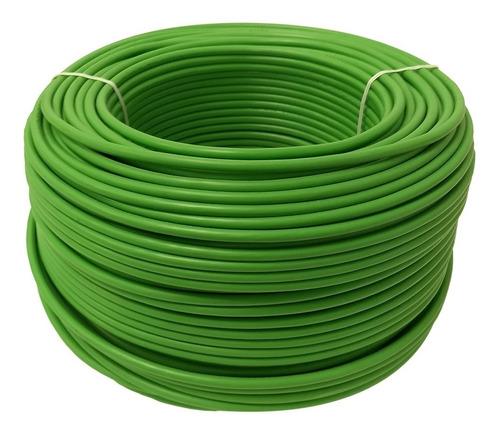 cable calibre 12 thw alucobre en caja con 100m color verde