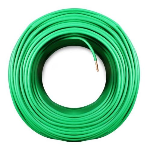 cable calibre 12 thw cca rollo 100m color verde