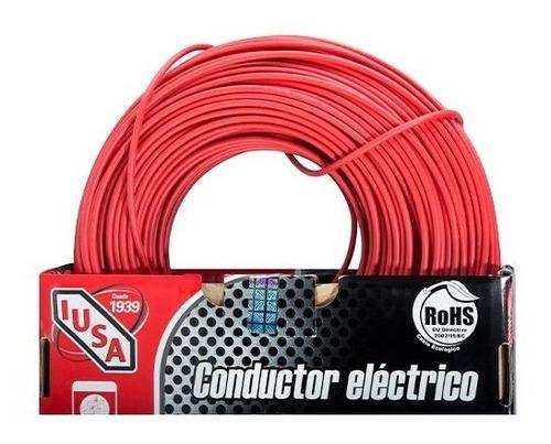 cable calibre 12 thw-ls / thhw-ls 100 m rojo