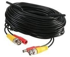 cable camara seguridad de video corriente 18 mts bnc y plug