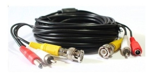 cable cámara video poder bnc 30 mts viña