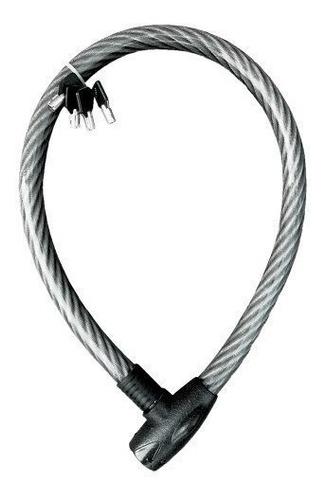 cable candado flexible llave redonda hd 1m mikels