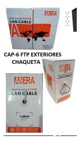 cable cap-6 ftp-20/80 anera con chaqueta exteriores 305 mtr
