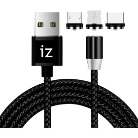 Cable Carga Magnético + Envío Micro Usb, iPhone Y Usb-c