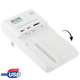 Cable Cargador Adaptador No Conector Giratorio Usb Para