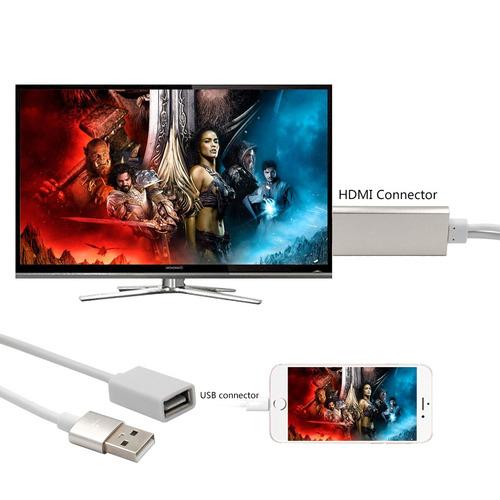 cable cargador adaptador video audio ca01-f varon usb 2.0