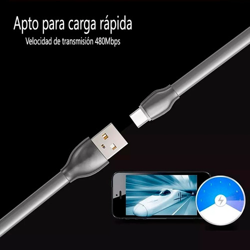 cable cargador auto fast 2.4a premium iphone 5 6 7 8 xs xr
