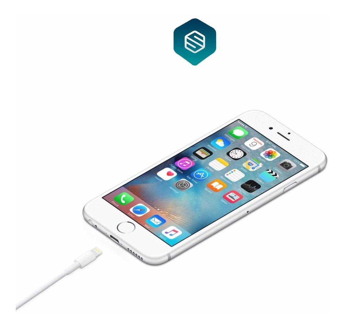 16529048d2e Cable Cargador iPhone iPad Apple Original + Anticlones - $ 432.25 en ...